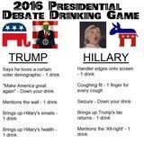 2016 Presidential debate drinking game