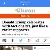McDonalds is now racist
