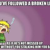 zelda meme broken link