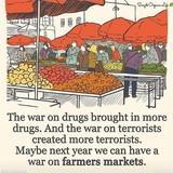 War on farmer markets