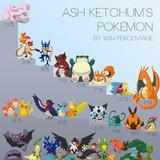 Ash's Pokémon win rate
