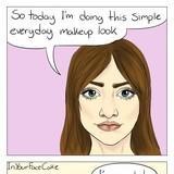 """""""Simple"""" makeup"""