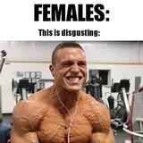 Women hate muscles