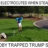 Electric Trump Sign Trap